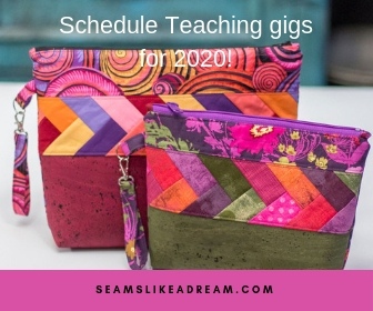 Big Picture Quilting Goals for 2019 featured by top US quilting blog and shop, Seams Like a Dream Quilt Designs