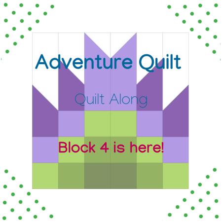 Block 4- Adventure Quilt Along!