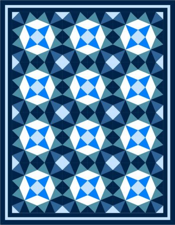 Exploring the Basics: Deciding on a Color Scheme, featured on top US quilting blog and shop Seams Like a Dream Quilt Designs!
