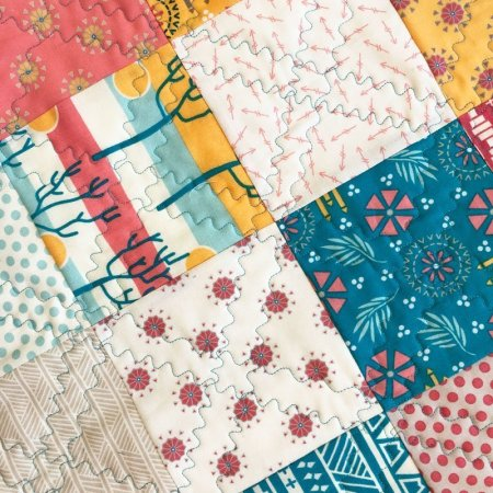 Annie's Market Bag Summer Adventures featured by top US quilting blog and shop, Seams Like a Dream Quilt Designs.