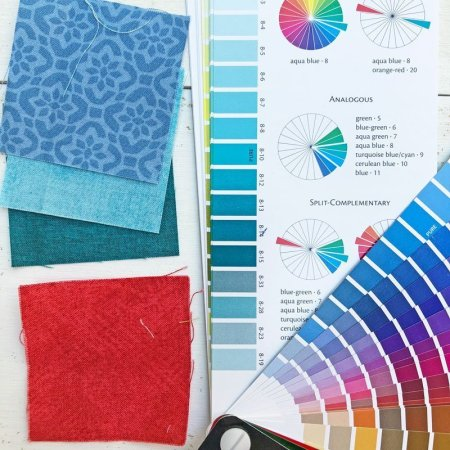 Exploring the Basics: Using your Stash, featured on top US quilting blog and shop Seams Like a Dream Quilt Designs!