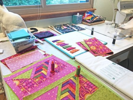 Exploring the Basics: Getting it all Together, featured on top US quilting blog and shop Seams Like a Dream Quilt Designs!