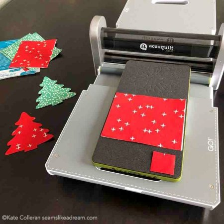 Exploring the Basics: Fabric Die Cutting featured by top US quilting blog and shop, Seams Like a Dream Quilt Designs explores the option of die cutting fabric for fun shapes for your quilting projects.