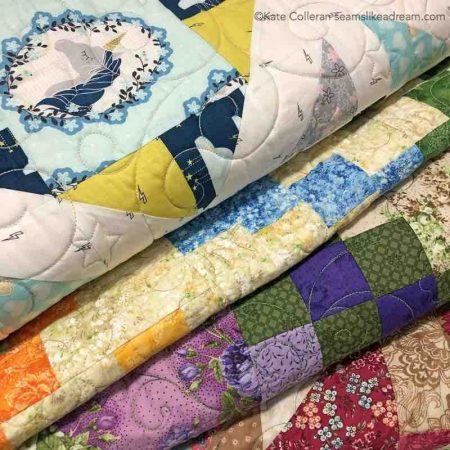 #amakeragiftguide: 5 Days of the Best Sewing Sales featured by top US quilting blog Seams Like a Dream Quilt Designs has a great sale on remade quilts!