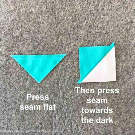 5 Tips for Pressing Quilt Seams featured by top quilting and sewing shop, Seams Like a Dream Quilt designs, explains why good pressing techniques matter when you quilt.