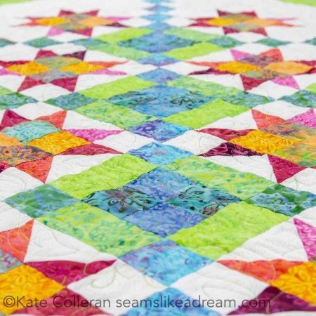 The Kismet Fabric Collection by Tammy for Island Batik featured by top US quilting blog Seams Like a Dream Quilt Designs: shows quilt projects made with Kismet fabric collection.