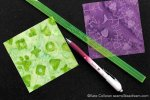Exploring Quilting Basics: How to make Quarter Square Triangles