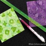 Exploring Quilting Basics: How to make Quarter Square Triangles