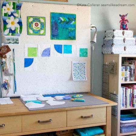 Exploring Quilting Basics: How to Use a Quilt Design Wall