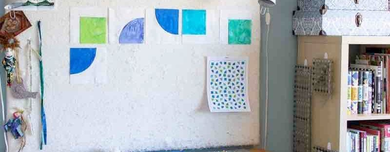 How to Use a Quilt Design Wall tips featured by top US quilting blog and shop, Seams Like a Dream Quilt Designs   Quilt design wall ideas