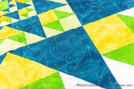 Luminous Quilt Along Project Block 6: Selene