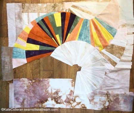 Virtual Improv Quilting class reviewed by top US quilting blog, Seams Like a Dream Quilt Designs