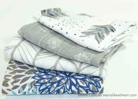 3 Handmade Mother's Day Gifts for Quilters featured by top US quilting blog, Seams Like a Dream Quilt Designs: summer scarf