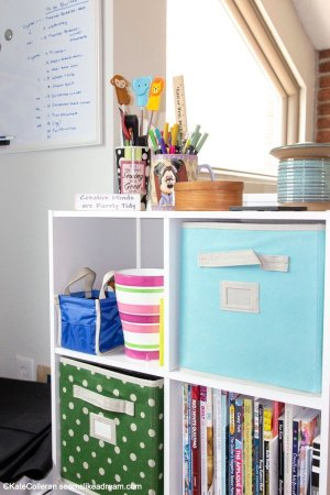 Fun and Functional Sewing Room Decor Ideas featured by top US quilting and sewing blog, Seams Like A Dream Quilt Designs