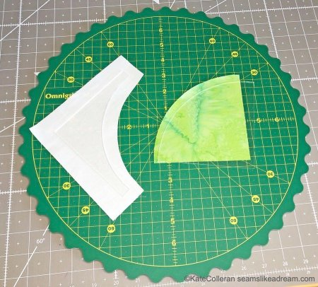 Quilting Essentials: Omnigrid Rotating Cutting Mat Review featured by top US quilting blog and shop, Seams Like a Dream Quilt Designs