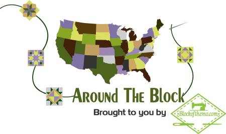 Current Quilt Alongs featured by top US Quilting blog Seams Like a Dream Quilt Designs: Around the Block US Tour