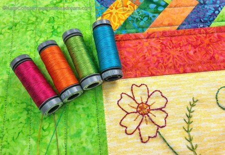 Kismet Thread Project with Aurifil Thread