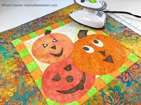 Exploring the Basics: How to Do a Fusible Appliqué, a quilting tutorial featured by top US quilting blog and shop, Seams Like a Dream Quilt Designs.