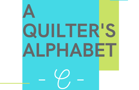 A Quilter's Alphabet: chain piecing tips featured by top US quilting blog and shop, Seams Like A Dream Quilt Designs