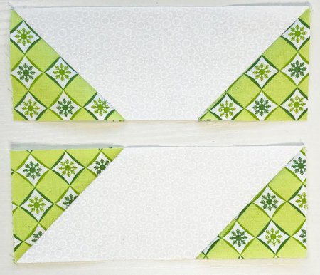 Exploring Quilting Basics: How to Do the Stitch and Flip Technique.