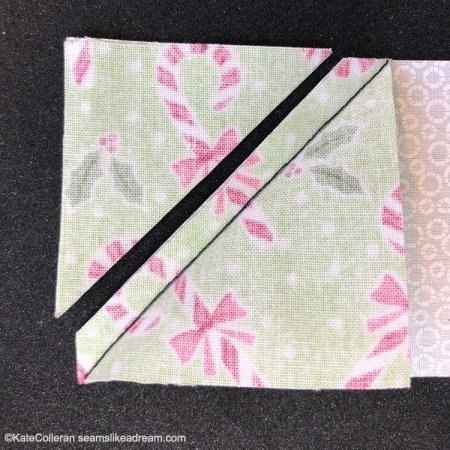 Exploring Quilting Basics: How to Do the Stitch and Flip Technique, from top US quilting blog and shop, Seams Like a Dream Quilt Designs.