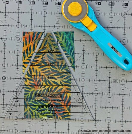 Exploring Quilting Basics - The Diamond in a Rectangle Quilt Block by Top US quilting blog and shop, Seams Like a Dream Quilt Designs.