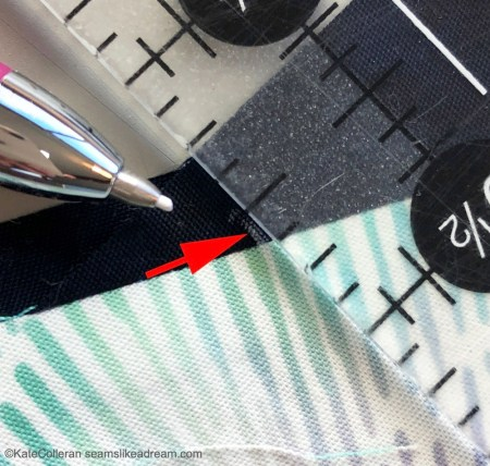 Exploring Quilting Basics featured by top US quilting blog and shop Seams Like a Dream Quilt Designs, shows how to make half rectangle triangle blocks!