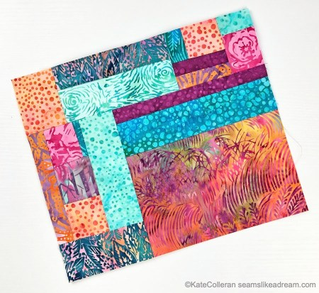 A Quilt Tutorial featured by top US quilting blog and shop Seams Like a Dream Quilt Designs, explains how to make crumb quilt blocks.