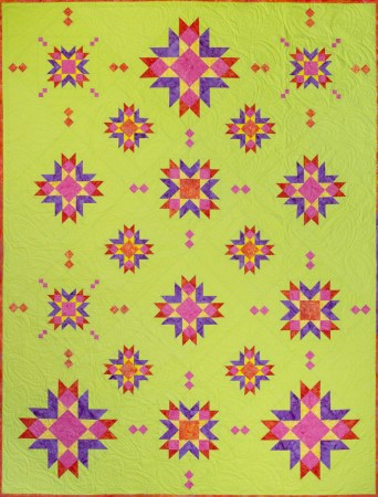 Top US quilting blog and shop, Seams Like a Dream Quilt Designs, shares 2 new star quilt patterns, Astria and Novalie!