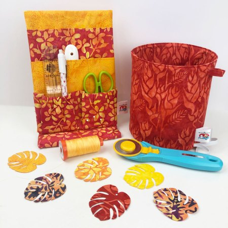Top US quilting blog and shop, Seams Like a Dream Quilt Designs, shares quilts made with Tiki Punch fabrics and a giveaway!