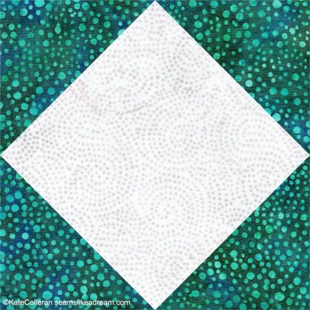Top US quilting blog and shop, Seams Like a Dream Quilt Designs, shares how to make the Snowball Quilt Block.