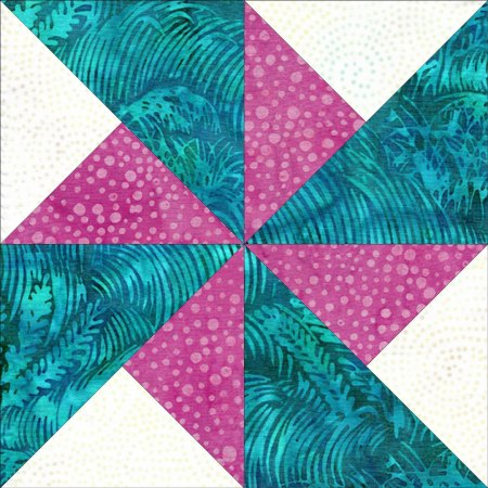 Top US quilting blog and shop, Seams Like a Dream Quilt Designs, shares tips on the double pinwheel quilt block!