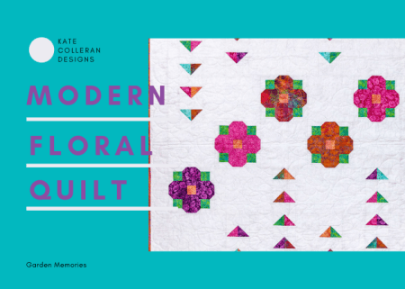 Top US quilting blog and shop, Seams Like a Dream Quilt Designs, shares about a floral quilt pattern and inspiration!