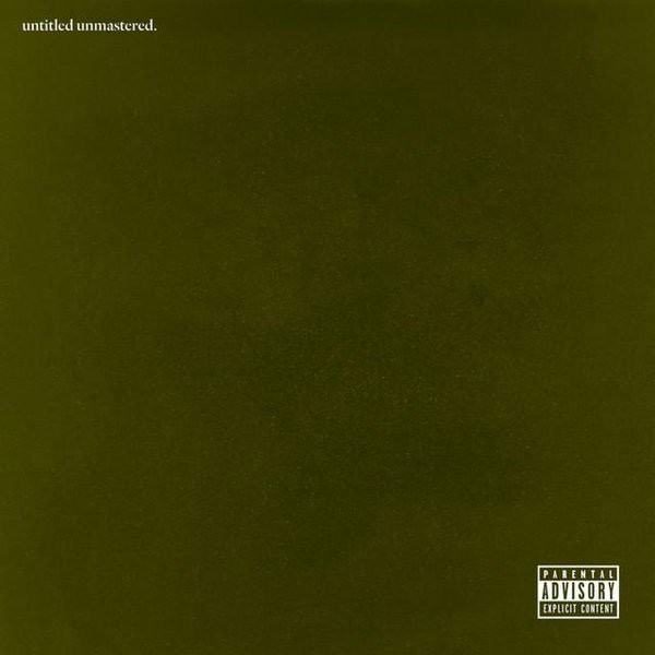 Kendrick Lamar Untitled Unmastered Album Cover