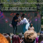 Ivy Sole and Dave B Performing at Sol Blume Festival