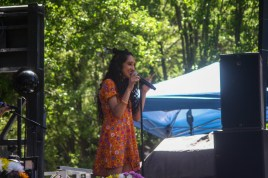 Raveena Performing at Sol Blume Festival