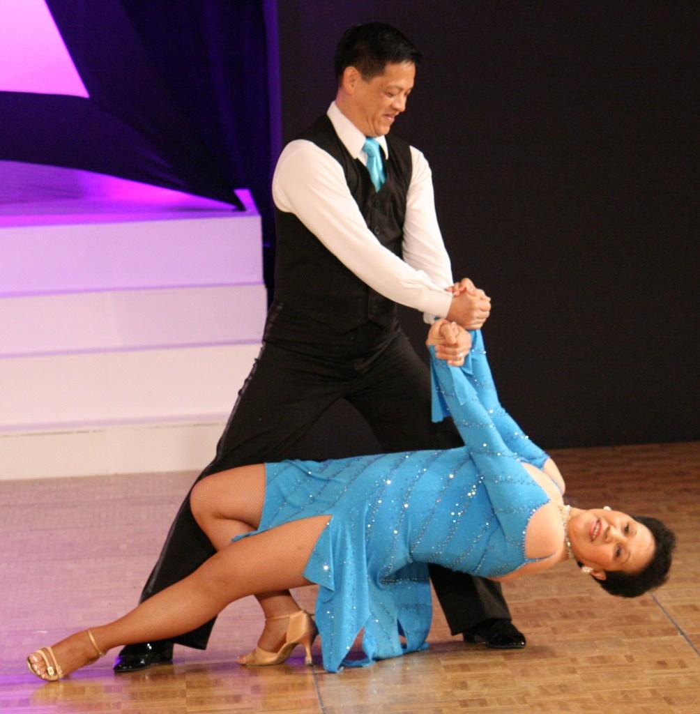 Teresa Sigmon, ballroom dance instructor and dance/skate costumer, www.seamssensational.com