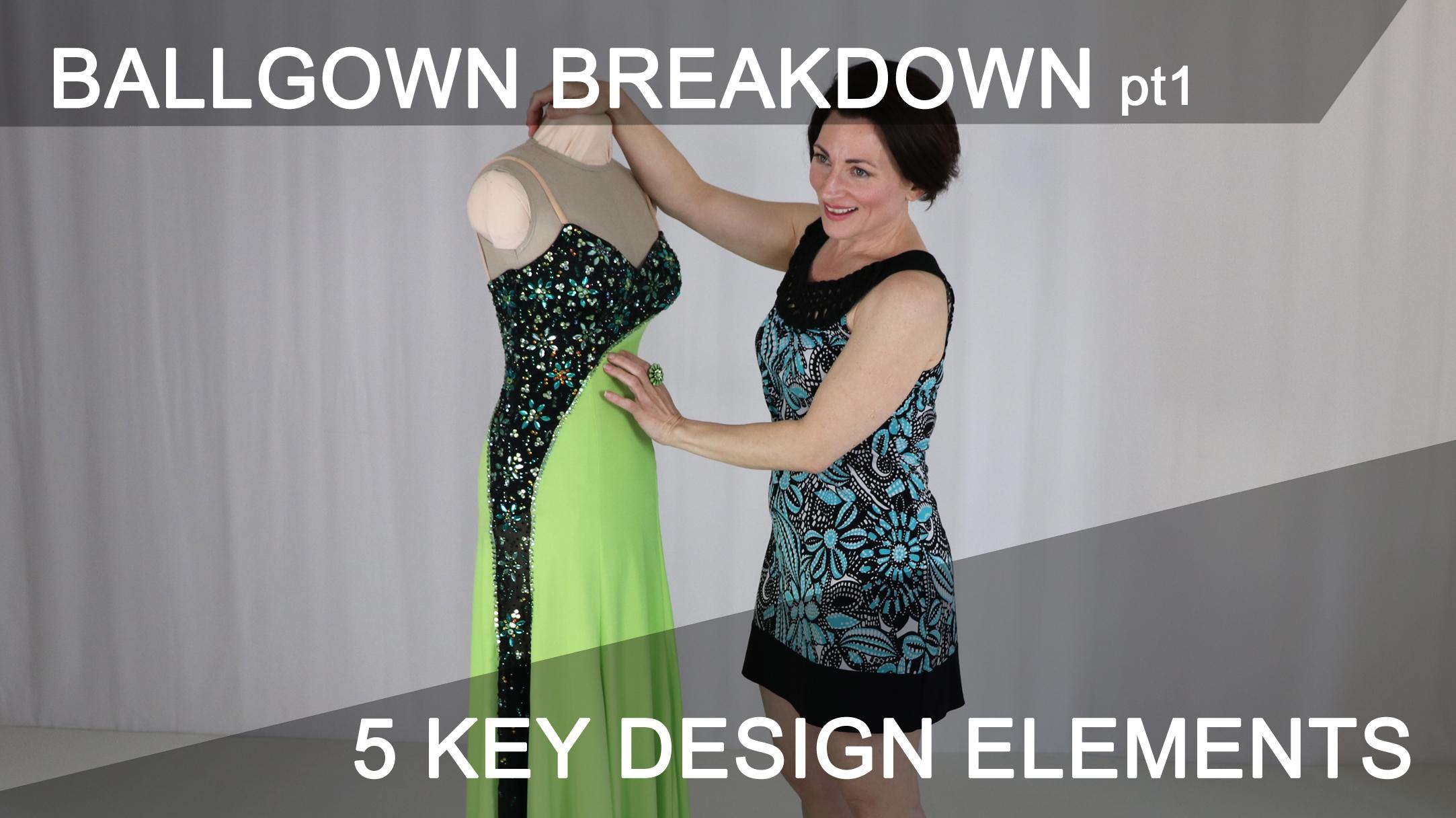 Strong Design Elements Make A Classic Ballgown Shine