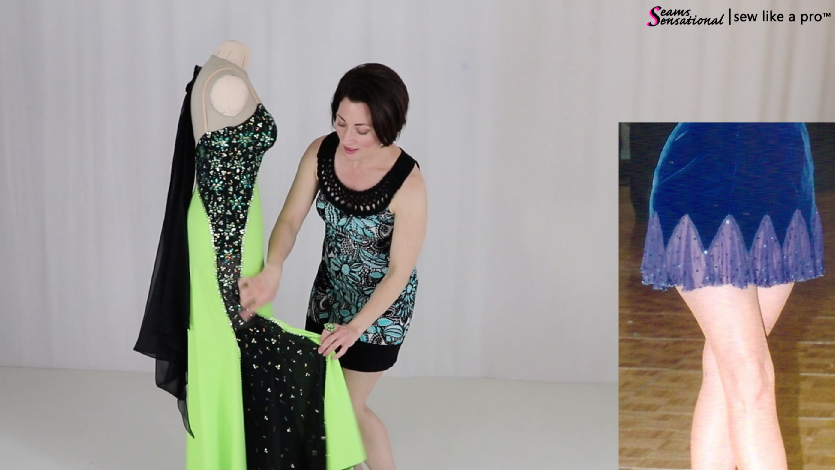 10 Ways To Change A Ballroom or Skate Dress