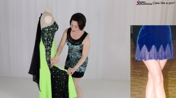 10 ways to change a Ballroom, Latin, Country or Skate dress