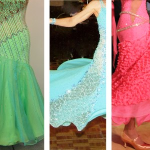 How to make skirts for competition Dancesport gowns, Standard dance gowns, ballroom dancing gowns, competition Country dresses, ballgown skirts