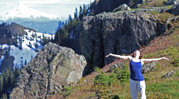 3 ways to help overcome setbacks that can make life difficult, Teresa Sigmon hikes Silver Star Mountain, Mount Hood