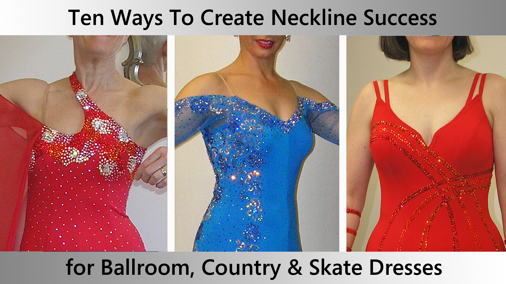 Ten Perfect Necklines for Dance and Skate Dresses