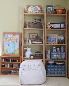 home sewing room
