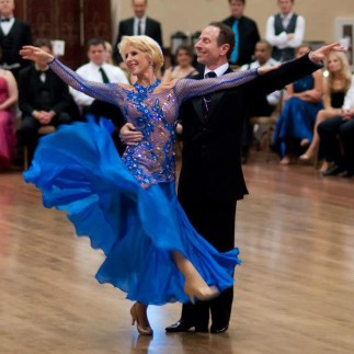 Dancesport judge, Jenell Maranto with Jim Maranto, U.S., Smooth Champions, ballroom dance, ballroom dancing