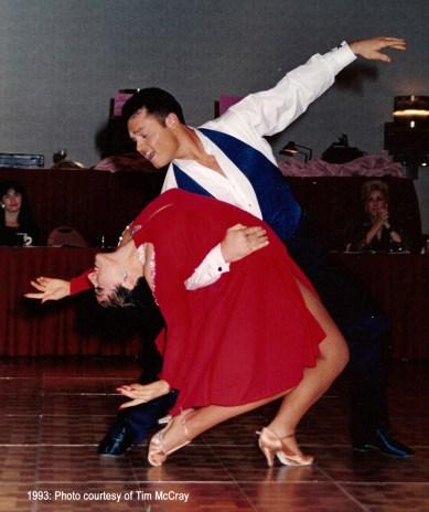 Ballgown Design Challenge dress design women compete Dancesport ballroom Country dance Teresa Sigmon Jeff Robinson theater arts