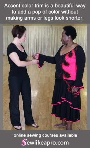 Betty and Teresa Sigmon in St. Louis hero pic, lengthen leotard for a better bra fit
