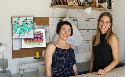Teresa Sigmon interviews synchro skating coach and dress designer, Jannika Lilja