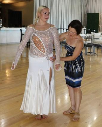 when shopping for a ballroom dancing dress, competition ballroom dance costume, Smooth Dancesport ballgown