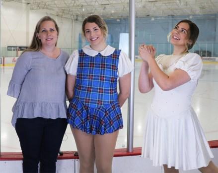 quick change ice skating costume, Tammy Jimenez dressmaker, Gianna Scalisi, figure skater, Hairspray the muscial